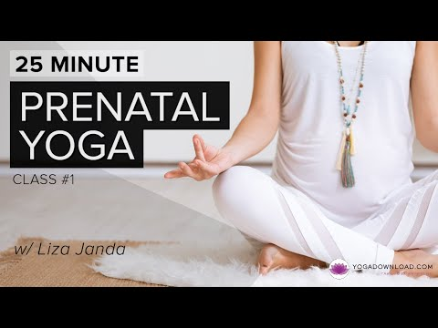 Prenatal Yoga 1 - 25 min version