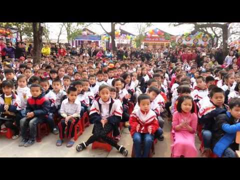 Khai mạc Ngày hội trải nghiệm - sáng tạo - Trường T.H Nam Hồng