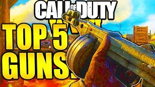 TOP 5 BEST GUNS RIGHT NOW  COD WW2! 2018 BEST WEAPONS CALL OF DUTY WORLD WAR 2 MULTIPLAYER!
