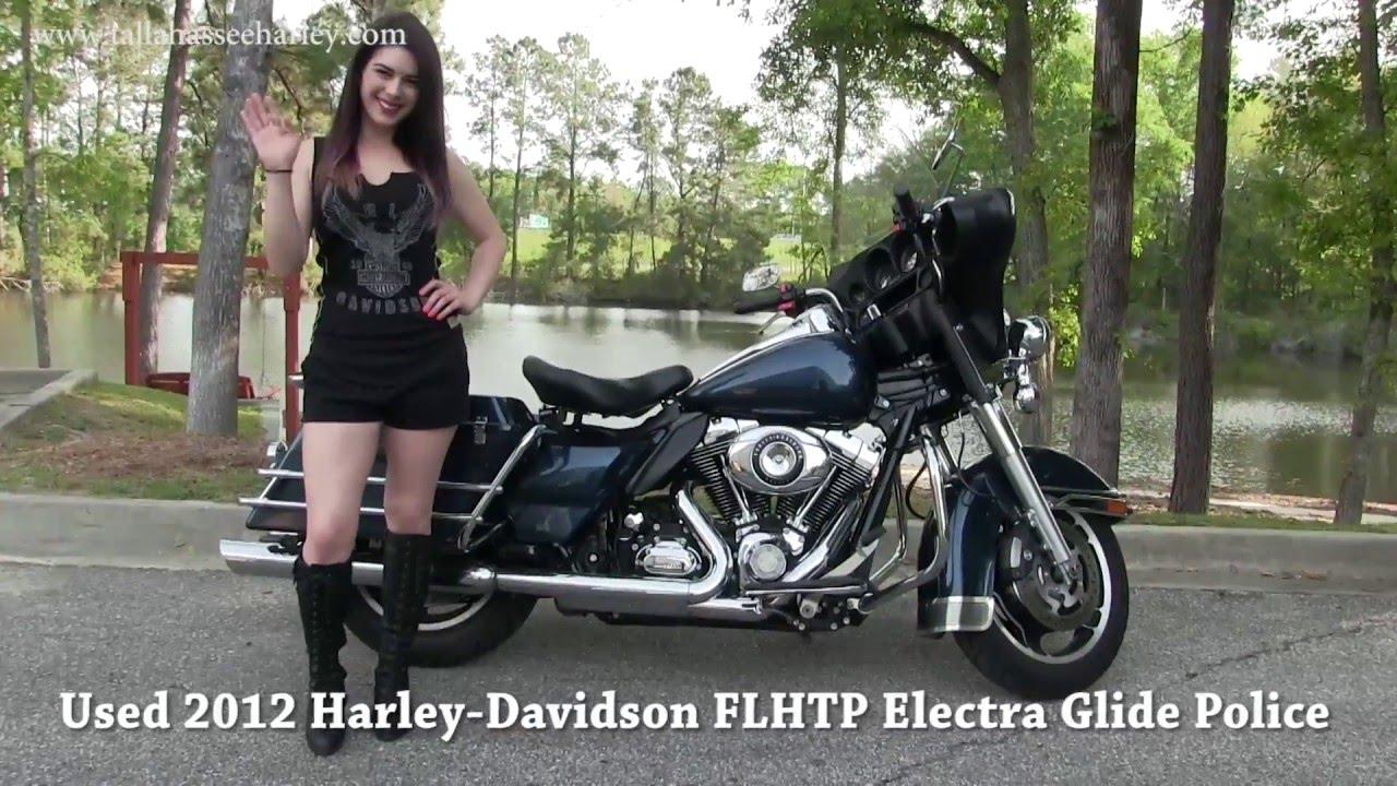 2012 Harley Davidson Electra Glide Police for sale eBay - YouTube