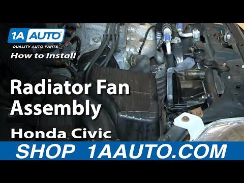 Radiator Cooling Fan /& Motor Assembly for Honda Civic Del Sol