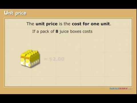 unit price youtube