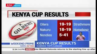 Menengai Oilers share points with Strathmore University in Kenya Rugby Cup Results