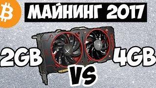 МАЙНИНГ НА RX 460/ 2гб или 4гб