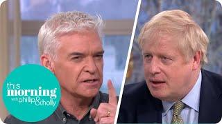 Boris Johnson on Priti Patel, Coronavirus and Changing Nappies | This Morning