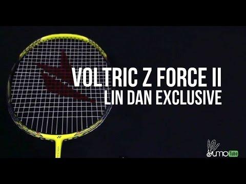 Yonex Voltric Z Force II 2 Lin Dan Exclusive Badminton