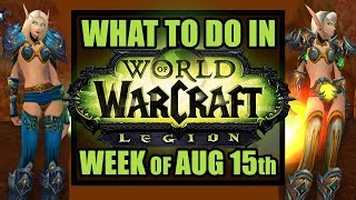 Sexy Transmog, 7.3 Scenario & Spectral Moose | What's New in WoW: Week of August 15th, 2017