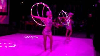 Hypnotic Honeys of Hula: Duo hoop act showreel