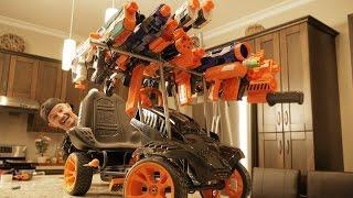 BATTLE RACER Nerf GUN MOD