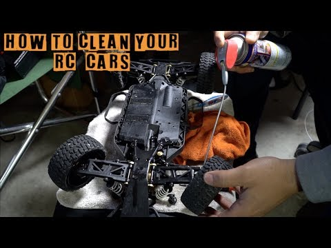 How To Clean RC Cars and Trucks