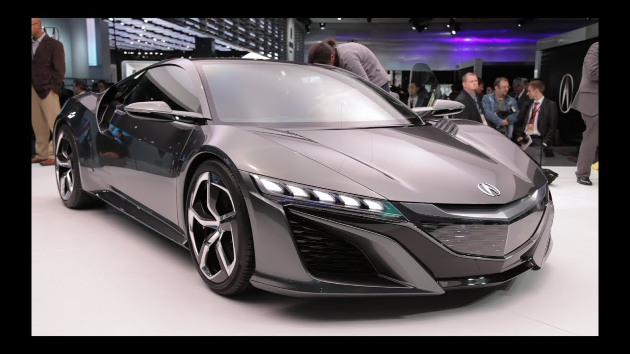 Acura NSX Concept - 2013 Detroit Auto Show - YouTube