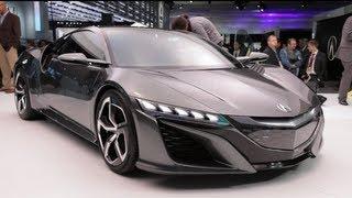 Acura NSX Concept - 2013 Detroit Auto Show