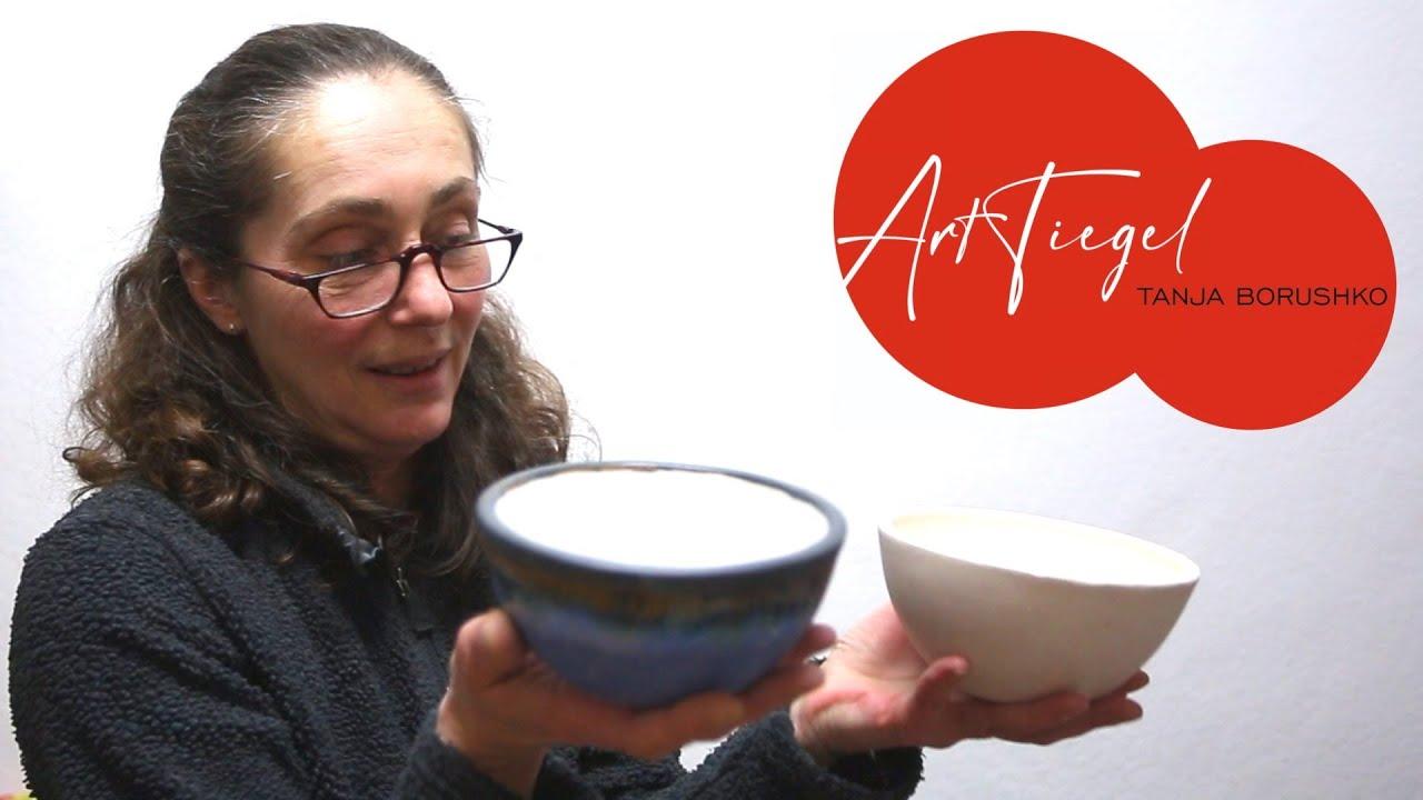 Münchner ArtTiegel. Keramikerin und Künstlerin Tatiana Borushko