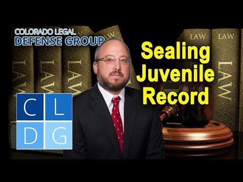 Sealing a juvenile record in Colorado (by Denver criminal defense attorneys)