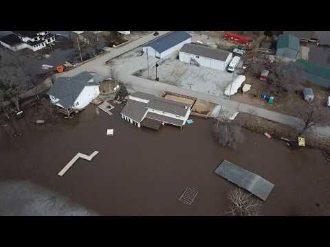 Chris Baker - Drone Video Of Bellevue Nebraska