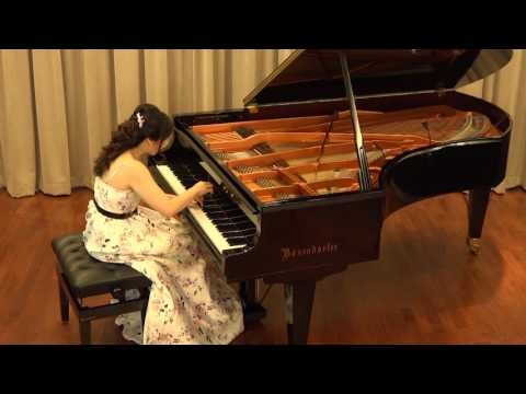 "Josephine Koh plays Beethoven: Piano Sonata in E-Flat Major, Op. 81a ""Les Adieux"" (2nd & 3rd movts)"