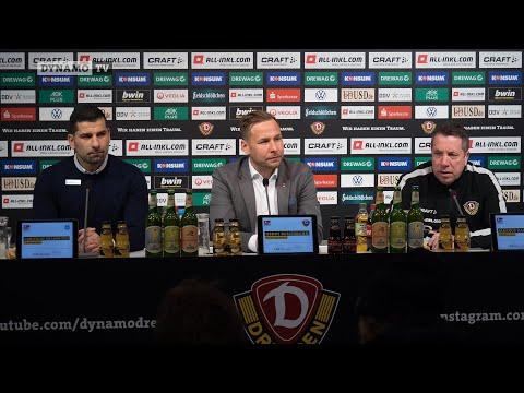 21. Spieltag | SGD - SVD | Pressekonferenz nach dem Spiel