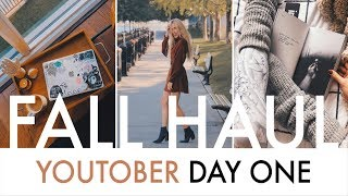 FALL HAUL + What's In My Everyday Bag