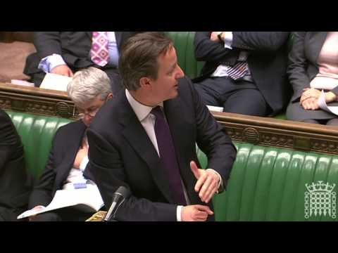 Dr Phillip Lee MP questions Prime Minister on Mid Staffordshire in the HoC