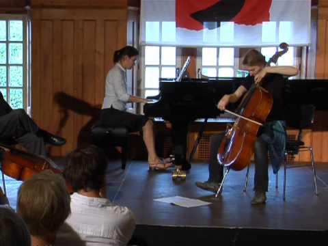 Janós Starker in Kronberg - Kronberg Academy