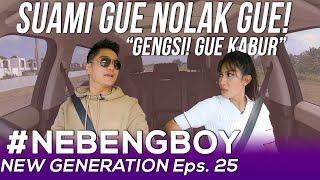 Download lagu AYU DEWI KABUR! SUAMI GUE NOLAK GUE! BOY SHOCKED | #NebengBoyNewGeneration Eps.25