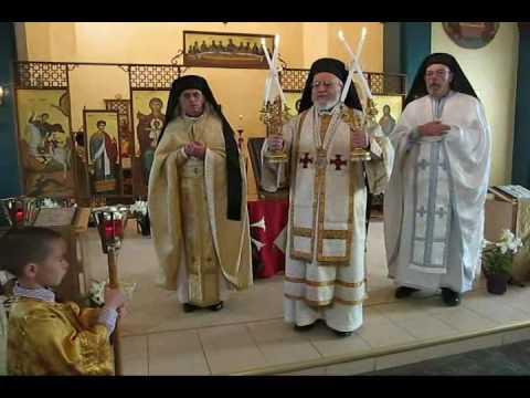Melkite Archbishop Bustros at St. George Milwaukee