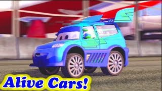 Cars 2 Game Play - Free Play with DJ Part 01