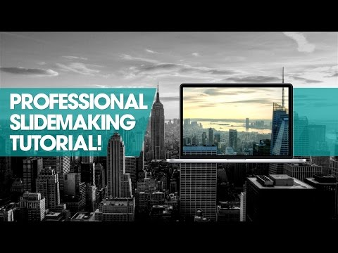 How to make a Professional Powerpoint slide! Create slide template | Free resources | PowerPoint Pro