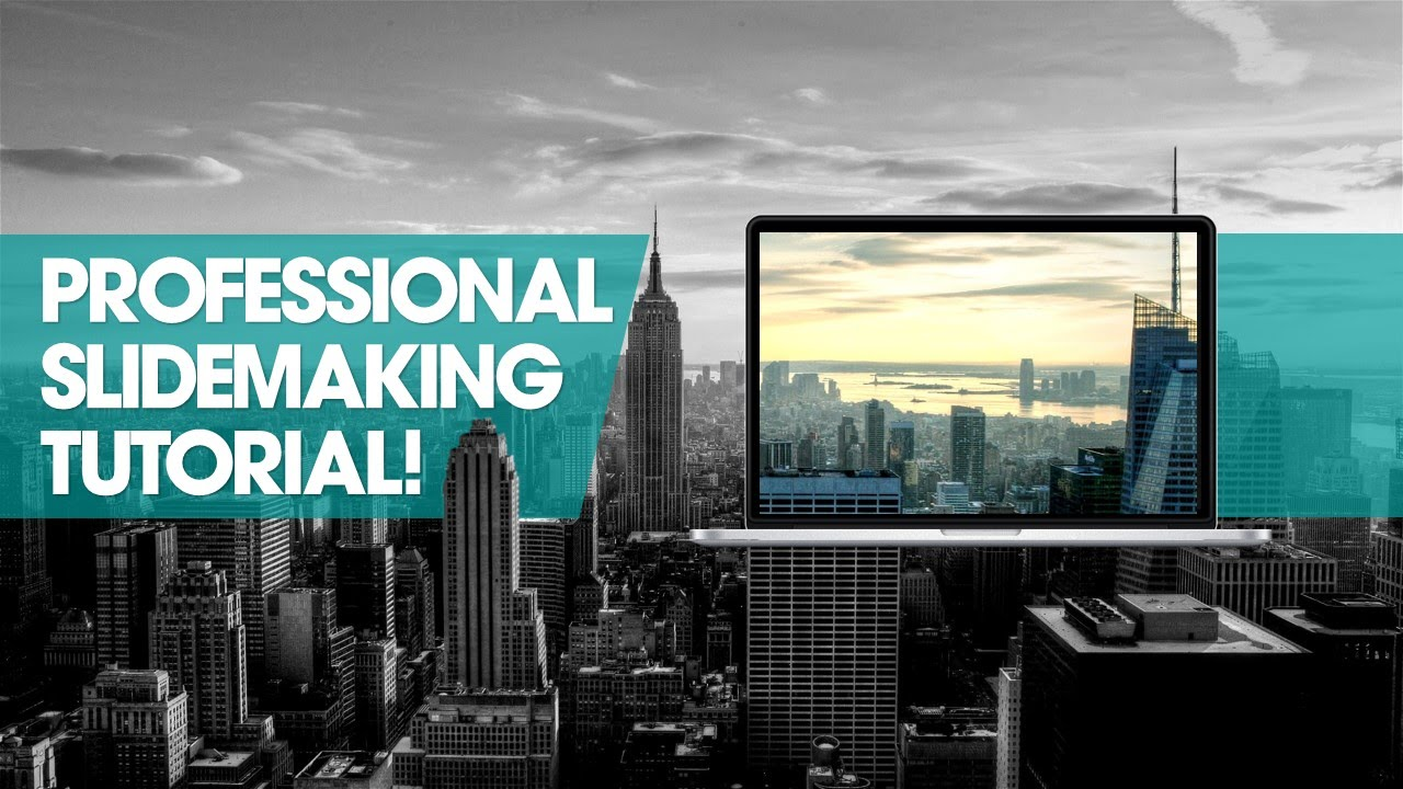 How to make a Professional Powerpoint slide Create slide template  Free resources  PowerPoint