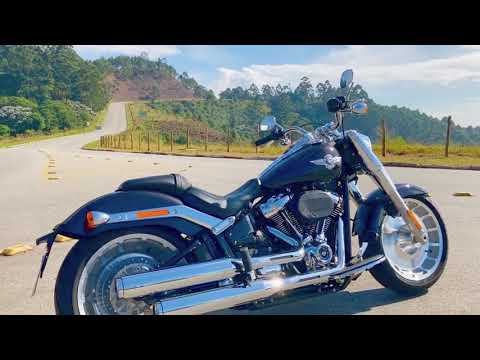 Harley-Davidson Fat Boy - Teste - VÍDEO