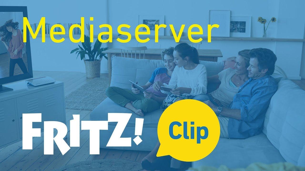 FRITZ! Clip – Zo maak je van de FRITZ!Box een mediaserver