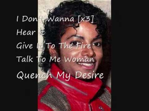 Michael Jackson Give In To Me Lyrics