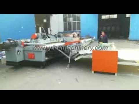 Plywood Machinery 8FT CNC Spindleless Veneer Peeling ...