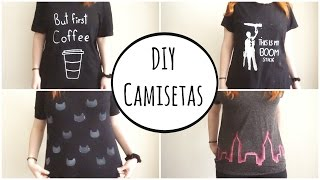 DIY Estampa Camisetas (playeras)