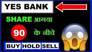 Yes Bank share आगया 90 के नीचे 😱 अब आगे क्या करें ? (Buy) (Hold) (sell) in Hindi by SMkC
