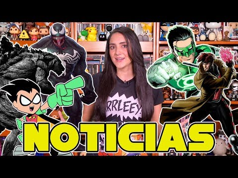 Green Lantern Corps, Black Widow, Venom y más
