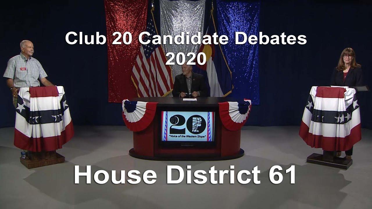 Club 20 Debate