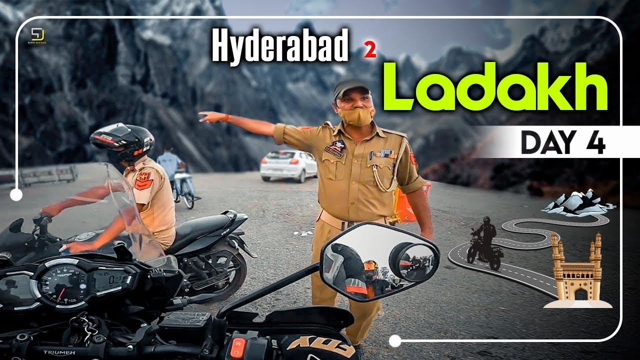 Hyderabad To Ladakh | Day 4 | Sandeep Nadimpalli | Telugu |