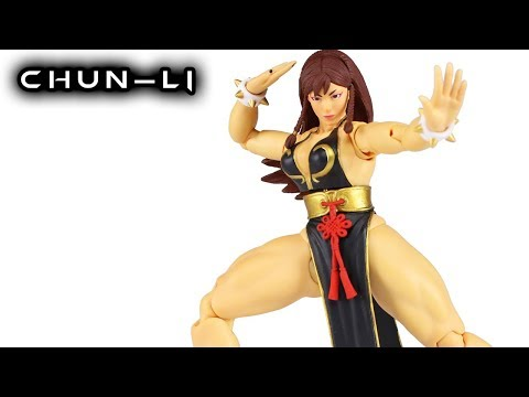 Storm Collectibles CHUN-LI Battle Dress (HOT) NYCC Exclusive Street Fighter V Action Figure Review