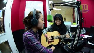 Najwa Latif & Nana Sheme @ ERA.FM Kuching | One in a Million (cover)