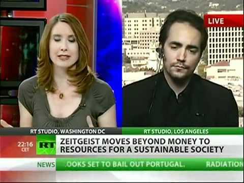 Más allá del dinero, Peter Joseph en RT
