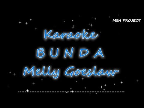 BUNDA - Melly Goeslaw Karaoke Versi Orchestra
