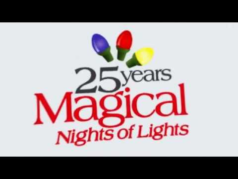 Lanier Islands Magical Nights of Lights Nov 17-Jan 3 2018 - YouTube