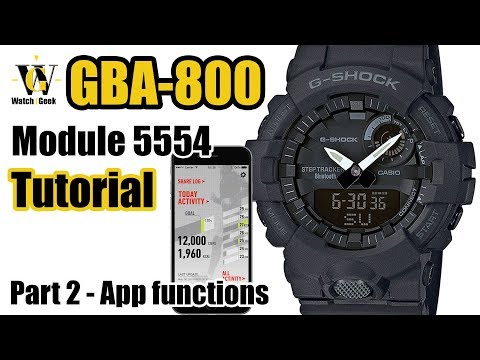 GBA-800 tutorial - part II - App functions of the module 5554