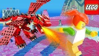 FUGINDO DE UM DRAGÃO NO LEGO