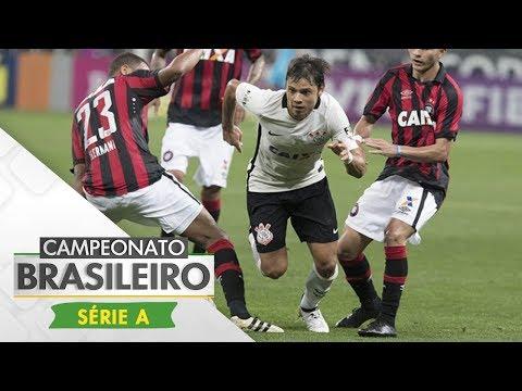 Melhores Momentos - Corinthians 2 x 2 Atlético-PR - Campeonato Brasileiro (15/07/2017)