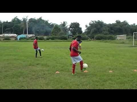 Test du joueur ALI football