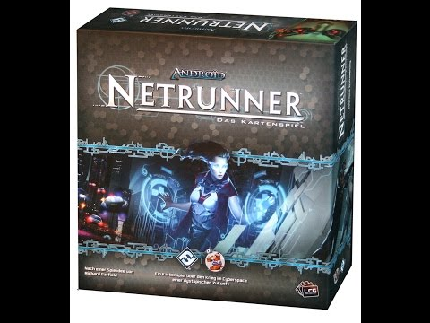 Android: Netrunner Core Set Unboxing