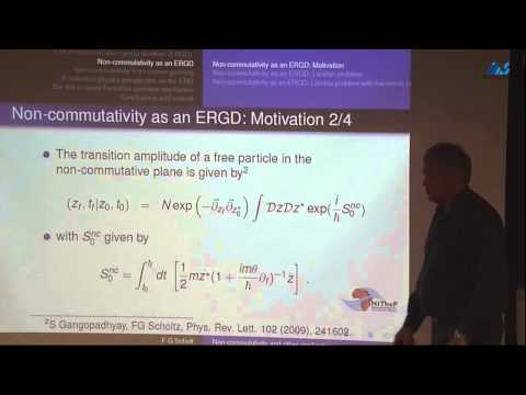 Frederik George Scholtz -Non-commutativity and other applications