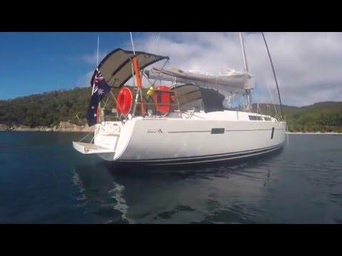 Sailing 5 days in Bass Strait